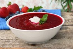 KOAB Recipe Exchange: Summer Soup (Chilled Mixed Berry Soup)