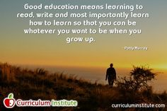 The Curriculum Institute is dedicated to providing clear, concise and easy-to-follow instructions for the implementation of the Common Core Standards and the overall improvement of teaching and management of K-12 schools in the United States.