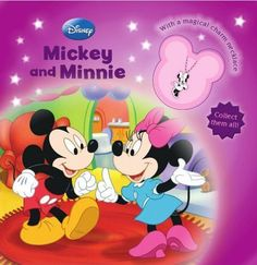 USED GD Disneys Minnie Mickey Mouse Charm Book Disney