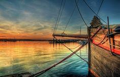 Old fishing trawler in Brixham marina by Mike Stapleton