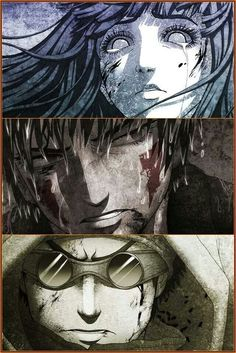 """""""Team 8"""" Hinata Hyuga, Kiba Inuzuka, and Shino Aburame (Naruto) Love the art."""