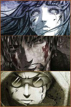 """""""Team 8"""" Hinata Hyuga, Kiba Inuzuka, and Shino Aburame (Naruto)"""