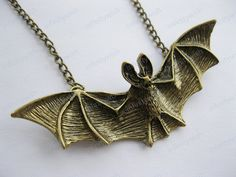 NecklaceBat necklacefriendship necklacelover by infinitywish, $3.99