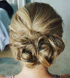 Low+Messy+Updo