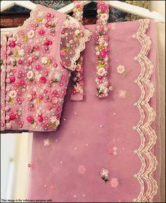 Bridal Blouse Designs, Saree Blouse Designs, Blouse Styles, Saree Styles, Indian Blouse, Indian Sarees, Indian Frocks, Sabyasachi Sarees, Bollywood Saree
