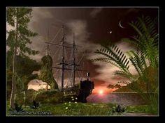 19 Ideas De Vangelis 1492 Music Grecia Paraiso Entorno De Ciencia Ficción Anochecer En El Oceano