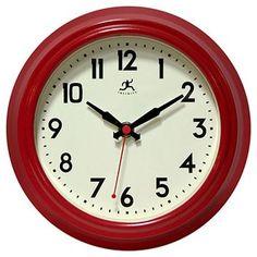 The Cuccina Clock - Red