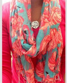 Cute Lilly Pulitzer scarf