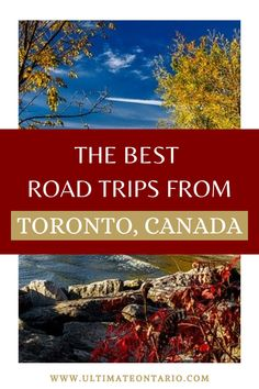 There are so many great multi-day road trips from Toronto, Ontario. Ontario is full of great places to visit no matter how much time you have for your Toronto road trip. Discover the best Ontario drives, the Ontario highlands, the Central Hills of Arts and Nature and much more!   #Ontario #OntarioTravel #Canada #CanadaTravel #Toronto #CanadaRoadtrips Ontario Travel, Toronto Travel, Canadian Travel, Short Trip, Weekend Trips, Amazing Destinations, Highlands, Travel Around The World, Cool Places To Visit