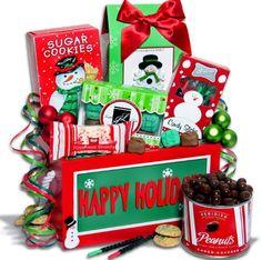 Christmas gift basket ideas.