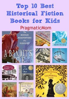 Top 10 Best Historical Fiction Books for Kids & GIVEAWAY of A Bandit's Tale by Deborah Hopkinson! :: PragmaticMom #ItalianAmerican #poverty