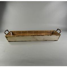 Buy Wooden Tapered Crate White at the best wholesale prices. Check this and more Baskets & Wood Containers for cheap & with national shipping. Wooden Crates White, Wholesale Flowers And Supplies, Wooden Containers, Harry Potter Wedding, Have Metal, Off White Color, Flower Vases, Event Decor, Basket
