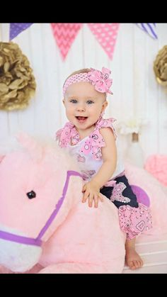 Pink WESTERN Wear BANDANNA Country COWGIRL 5pc. Set Outfit Girls Custom Boutique Pageant All Sizes Handmade Birthday WesternWear New Nwt by SouthernKupkakes on Etsy