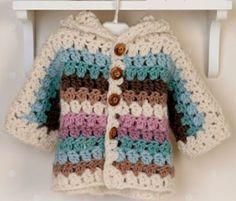 Blouse with crochet pattern ~ Crochet Baby