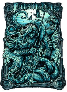 Mintees - Tees - Protest The Hero-Poseidon