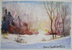 watercolor landscape paintings
