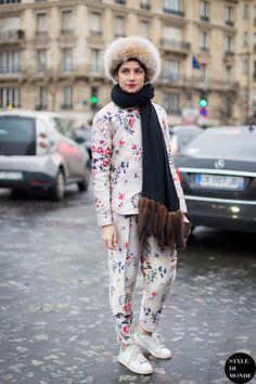 cutie. #EvaFontanelli in Paris.