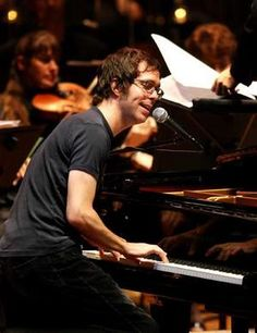 Ben Folds - talented, creative, and funny