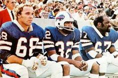Joe D., The Juice and Reggie McKenzie Buffalo Bills Football, Sport Football, Football Season, Buffalo New York, Michigan State University, Professional Football, Sports Figures, Vintage Football, Tornados