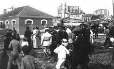 Fotos Antiguas de Castro Urdiales: Francisco Franco visita Castro Urdiales