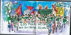 de vuelta con el cuaderno: Los peques del Cortes no quieren recortes