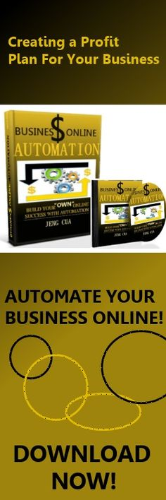 Business Online Automation Qualifying  visitors to your website are like gold mining, you need to identify the right spot to have the best harvest.  Having a good online presence is no difference.  You want to create multiple  points to have some interaction with your target customers and convert them into buyers.