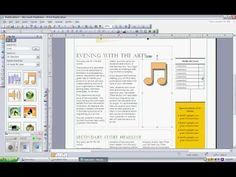 Creating newsletters using Microsoft Publisher
