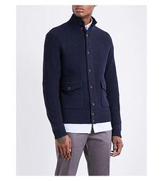 60c8076f POLO RALPH LAUREN Button-up wool and cashmere-blend jacket. #poloralphlauren  #cloth #
