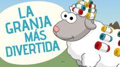 La granja más divertida. #Toobys #CancionesInfantiles Farm Animals, Little Ones, Spanish, Family Guy, School, Youtube, Kids, Fictional Characters, Pickup Lines