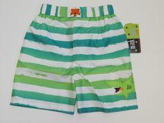NWT Mick Mack Ltd. Shark Swim Suit Trunks Shorts UPF 50+ Boys Size 5  #MickMackLtd #SwimShorts