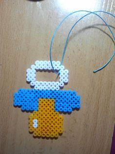 Pacifier hama beads by Mundo Caprichos