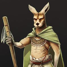 """Working on some personal """"Australian themed"""" D&D stuff here's a Kangaroo Druid Concept Proof Of Concept, Concept Art, Red Kangaroo, Dungeons And Dragons, Princess Zelda, Artwork, Fictional Characters, Collection, Conceptual Art"""