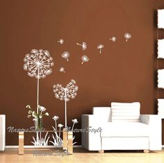 Dandelions-Vinyl Wall Decal,Sticker,Nature Design for Nursery Room