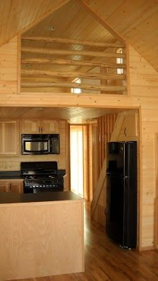 Gromer - Rich the Cabin Man - tiny house with built in stairs/storage underneath