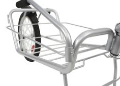 Maya Cycle Gallery showcases bike trailer images in action, highlighting product features and components.