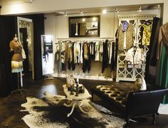 Display clothing at home like a cute boutique.