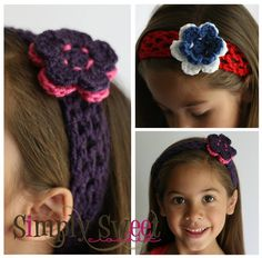 Sugar & Spice Headband. A quick project that can be customized in many ways.