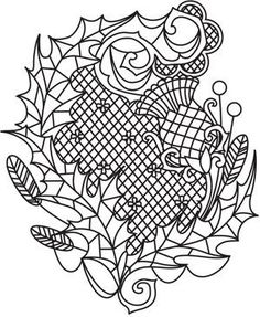 leaves | Urban Threads: Unique and Awesome Embroidery Designs
