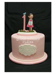 Gorgeous 1st Birthday Cake!