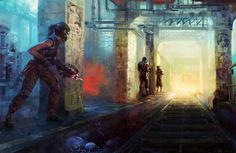 Underrail game artwork by Jason Seow