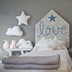 Cabeceiras lindíssimas para a cama dos pequenos! | Just Real Moms
