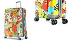"""Groupon - Olympia Blossom 25"""" Mid-Size Spinner. Free Returns. in Online Deal. Groupon deal price: $69.99"""