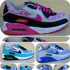 58df390b1615 Sepatu NIKE Air Max 90 Flower Ladies