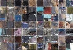Natural Decor® Papiri Mosaic by Archeo Ceramica; Resin/paper inlay mosaic tiles