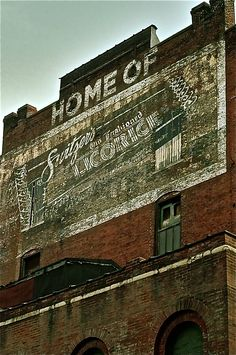 Switzer Licorce Building - St. Louis, Missouri  boy do I remember thinking I'm sure my city smells the BEST EVER !!!
