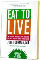 """Eat To Live"" by Dr. Fuhrman, MD. This book changed my life. Coined the term ""nutritarian"" describing one that eats the most nutrients per calorie. Lost 20lbs after following this plant-based way of eating."