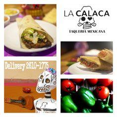 Venha hoje no #LaCalacaTaqueria Mexicana a jantar um #Burrito!!! #unpedacitodeMexico em #MogidasCruzes #ComidaMexicanadeVerdade — estoy comiendo comida mexicana.