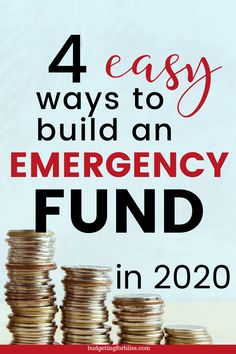 An emergency fund can help relieve some of the stress and worry when an unexpected event happens. Start an emergency fund in 4 easy steps. Money Saving Challenge, Money Saving Tips, Make Money Fast, Ways To Save Money, Setting Up A Budget, Weekly Budget, Budget Organization, Making A Budget, Living On A Budget