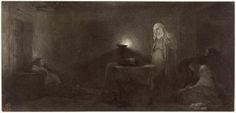 Robert Jefferson Bingham | Fotoreproductie van schilderij door Paul Delaroche: la Vierge en contemplation devant la couronne d'Epines, Robert Jefferson Bingham, Goupil & Cie, 1858 |