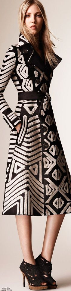 Yes Please! And my birthdays in a few weeks...Burberry Prorsum Resort 2016